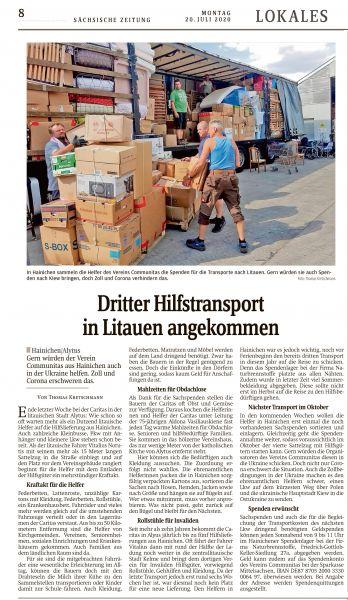 Hilfstransport-Juli-2020