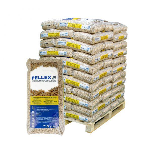 Nadelholz Pellets ENplusA1   960 kg Palette   inkl. Versand