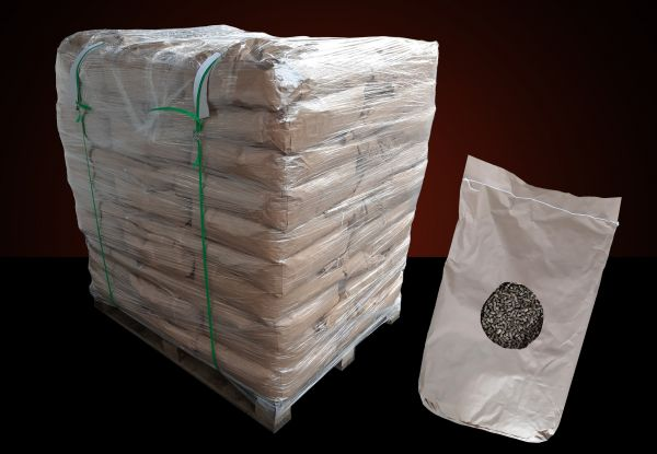 Strohpellets mit 50 % Rapsanteil als Pferdeeinstreu | 960 kg Palette | 20 kg Papiersäcke-Copy