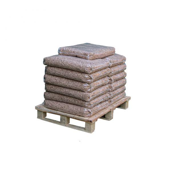 150kg Buchen-Pellets auf Halbpalette inkl. Versand