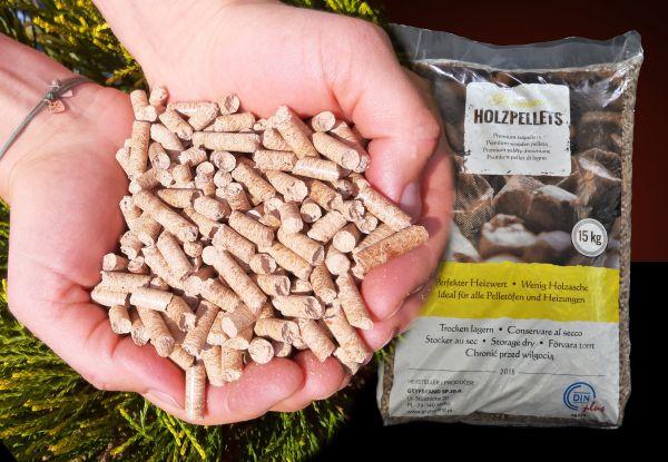 15kg Pellets aus Buchenholz zum Grillen, Räuchern, Smoken ab Lager