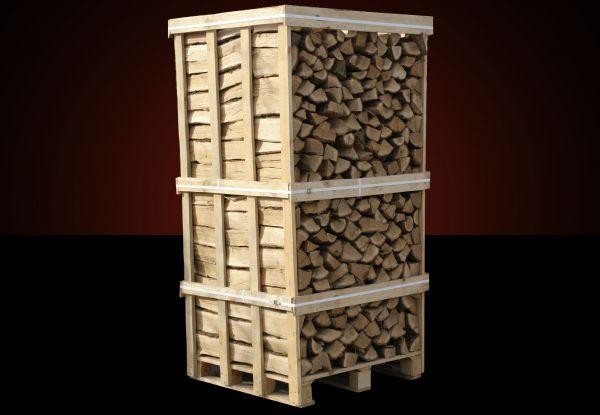 Kaminholz Box: 2 Raummeter Buchen-Kaminholz ca. 33cm lang inkl. Lieferung nach Österreich-Copy