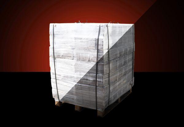 Rindenbriketts Gluthalter: Würfelbriketts Palette 384 kg - Gluthalter bis zu 12 Stunden