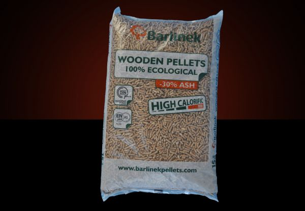 "Packung: 15kg Pellets ENplusA1 Marke ""Barlinek"" 6mm ab Lager"