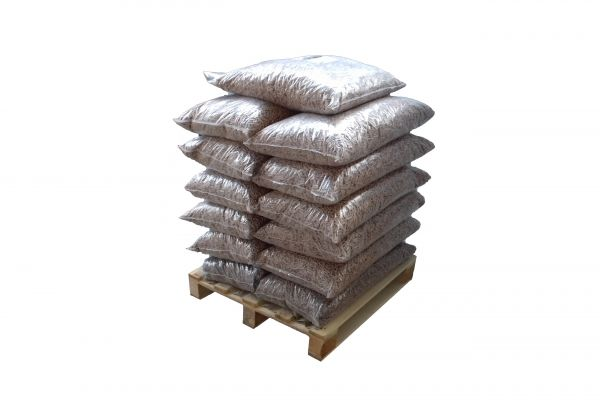 195kg Buchen-Pellets auf Halbpalette inkl. Versand